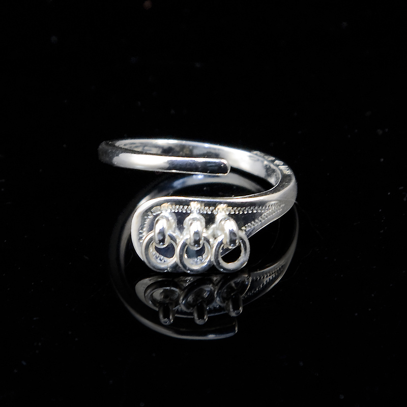 Silver Ringar+Broscher