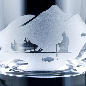Whiskyglas Fiskare, kristall