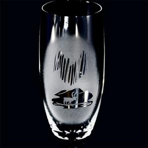 Sektglas Lapplandsfjäll Frost