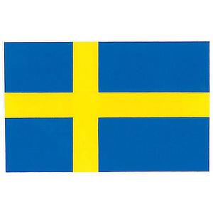 Dekal Sverigeflagga