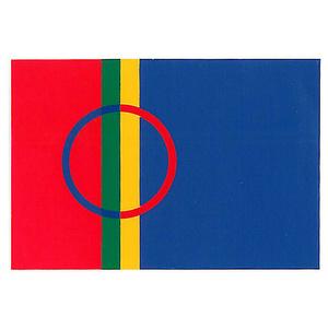 Aufkleber Samische Fahne