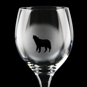 Weinglas Tiere Lapplands