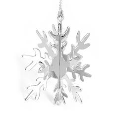 Weihnachtsdeko Schneekristall 3-D