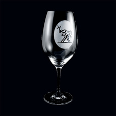 Weinglas Schamanentrommel