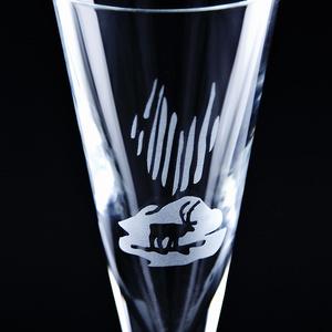 Schnaps- und Aquavitglas Nordlicht