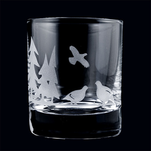 Whiskyglas Serie Lapplands Tiere, Kristall