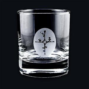 Whiskyglas Schamanentrommel, Kristall