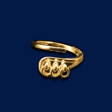 Ring Jokkmokk in Gold