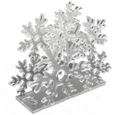 Serviettenständer Schneekristall