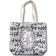 Väska Spåtrumma design  Heidi Lange
