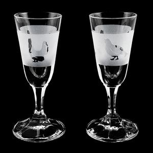 Schnaps- und Likörglas