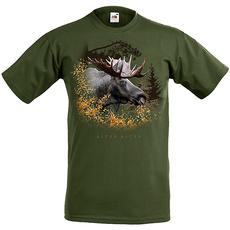 T-Shirt Älg i busken