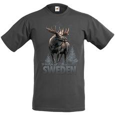 T-Shirt Älg i skogen