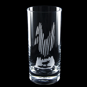 Allglas Norrsken, kristall