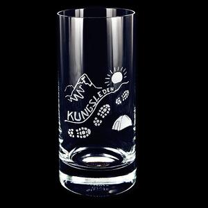 Glas Kungsleden, Kristall