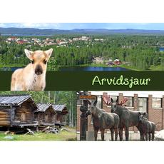 Postkarte 16 Arvidsjaur Sommer