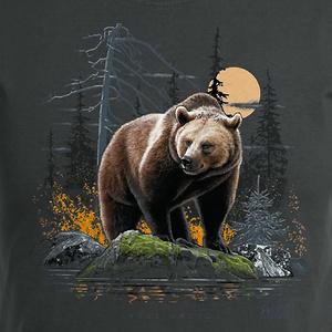 T-Shirt Braunbär