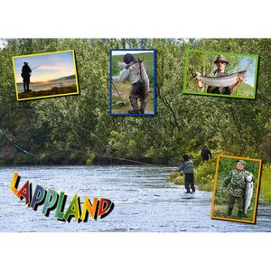 Postkarte 02 Lachsangler